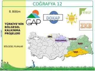 türkiyenin bölgesel kalkınma projeleri.ppt