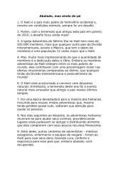 Informativo Mundial das Missões - 02 10 10 - Texto.doc