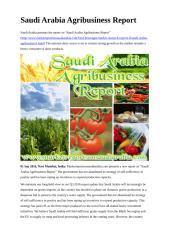 Saudi Arabia Agribusiness Report (1).doc