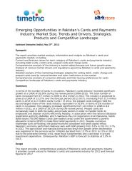 Emerging Opportunities in Pakistan's Cards and Payments Industry- Market Size, Trends.docx