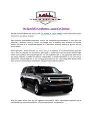 We_Specialize_In_Boston_Logan_Car_Service.PDF
