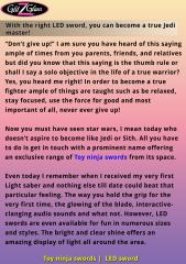 With the right LED sword, you can become a true Jedi master!.pdf