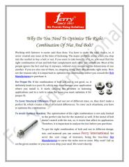 Why-Do-You-Need-To-Optimize-The-Right-Combination-Of-Nut-And-Bolt.PDF