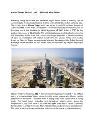 Almas Tower, Dubai, UAE.pdf