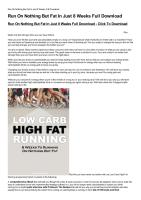 Run On Nothing But Fat In Just 8 Weeks Full Download-html.pdf