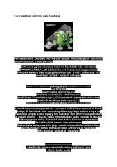 Cara membuat antivirus pada Flashdisk.doc