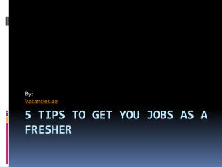 5 Tips to Get You Jobs as a Fresher.pdf