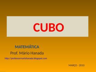 CUBO.pps