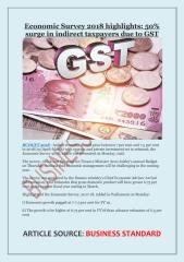 Economic Survey 2018 highlights- 50% surge in indirect taxpayers due to GST.pdf