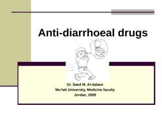 Anti-diarrhoeal drugs_medicine.ppt