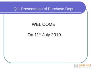 Purchase dept MRM.ppt
