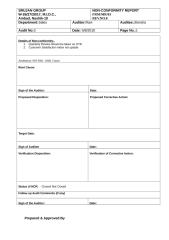 Audit NC Report-Sales.doc