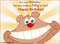 Funny birthday wishes images gif